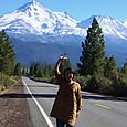 Mt.Shasta に向かう道