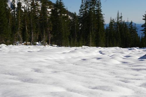 雪のパンサーメドウ 2011.10.8